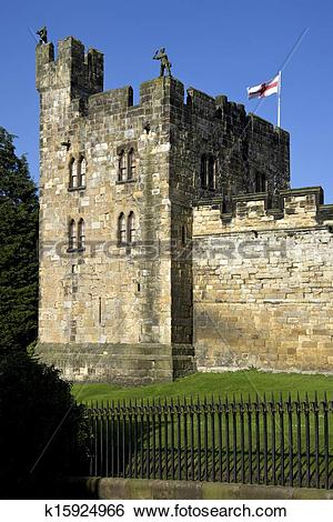 Stock Images of Alnwick Castle.