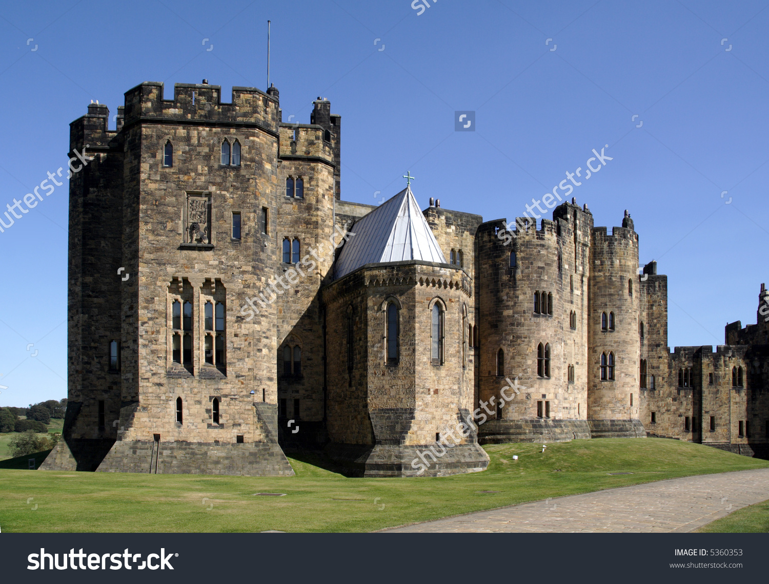 Alnwick Castle In Northumberland, Where 2 Harry Potter Films Were.