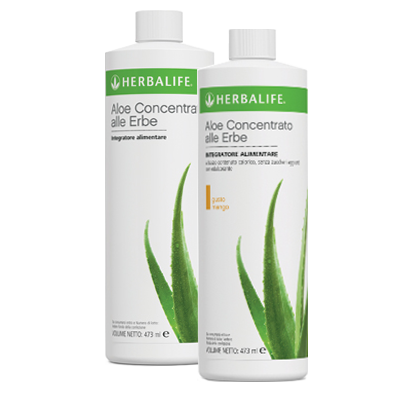Concentrate Herb Aloe Drink.