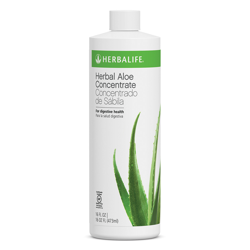 Herbal Aloe Concentrate Herbalife with Aloe Vera.