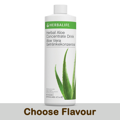 Herbal Aloe Concentrate (473mL).