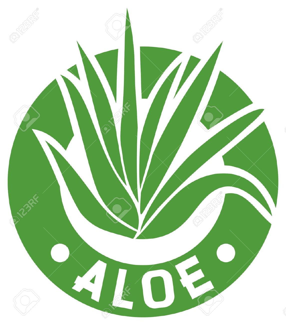 Aloe Vera Symbol Royalty Free Cliparts, Vectors, And Stock.