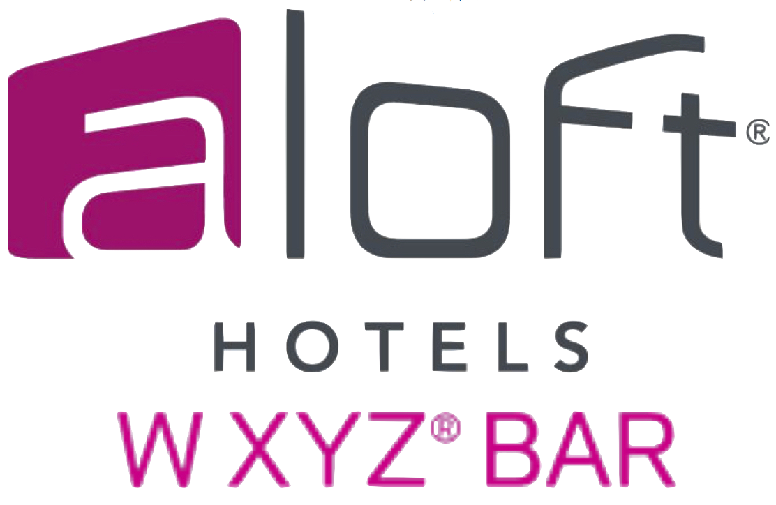 W XYZ Bar in Aloft Hotel.
