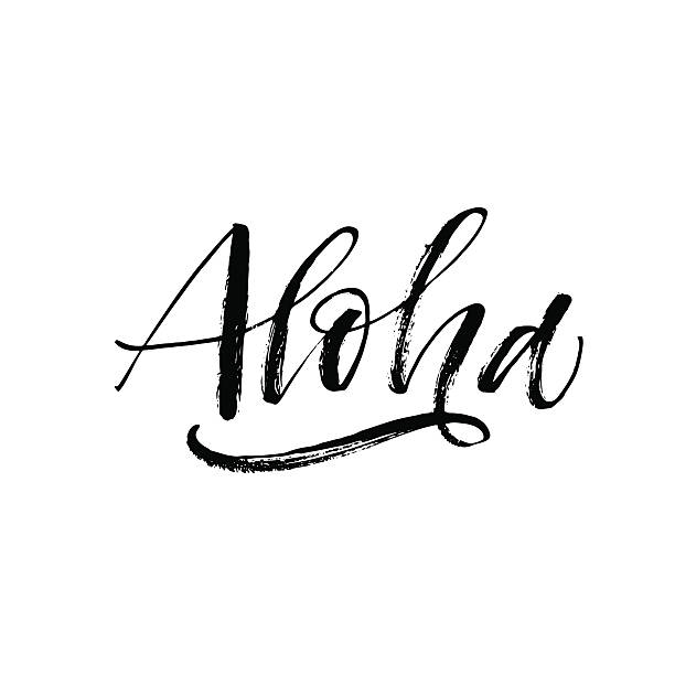 Best Aloha Illustrations, Royalty.