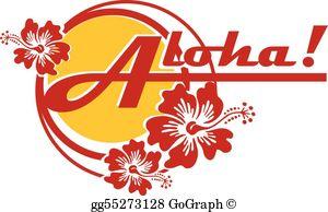 Aloha Clip Art.