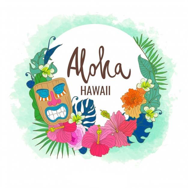 Hawaii Luau Clip Art Aloha.
