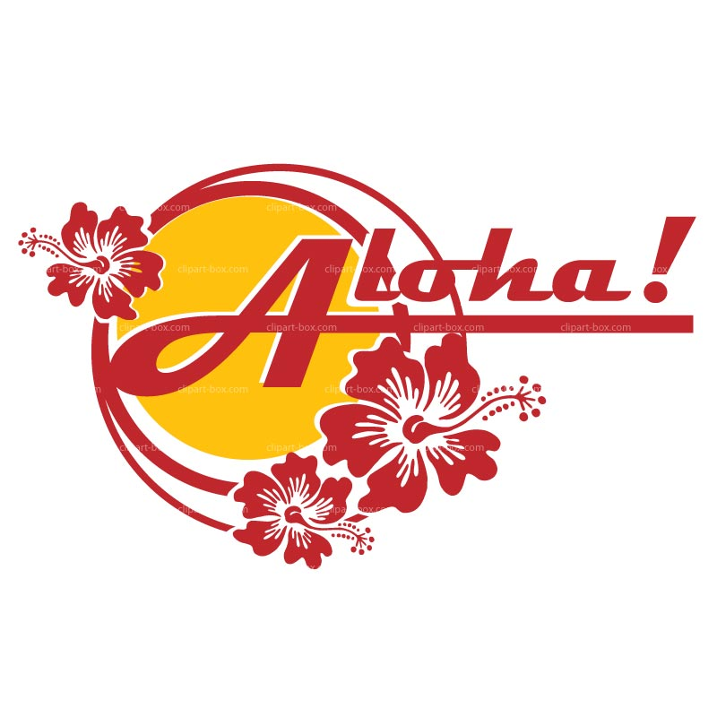 Aloha clipart #5