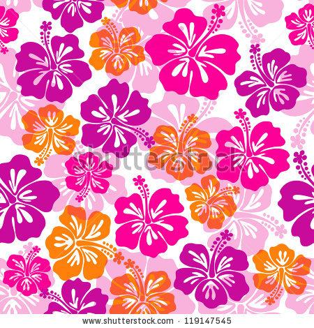 Hawaiian Flowers Stock Images, Royalty.