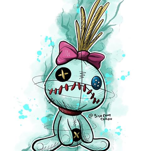Aloha stitch clipart tattoo clipart images gallery for free.