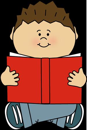 Kid Reading Alone.