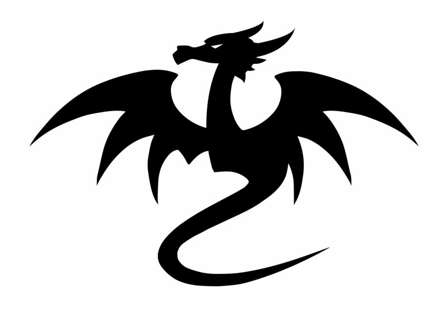 Random Dragon Logo Dragon Alone No Text Square.