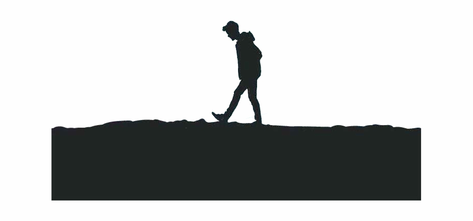 man #shadow #alone #go #leave #sad #dark #black.