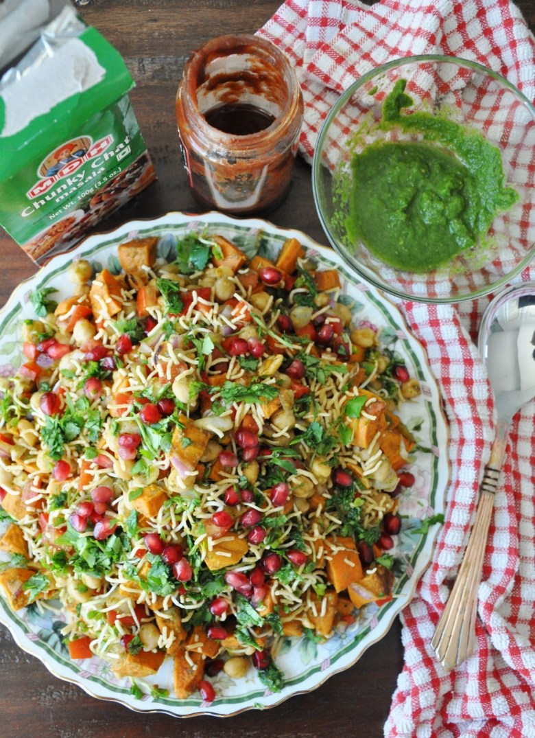 Sweet Potato Chaat (gluten.