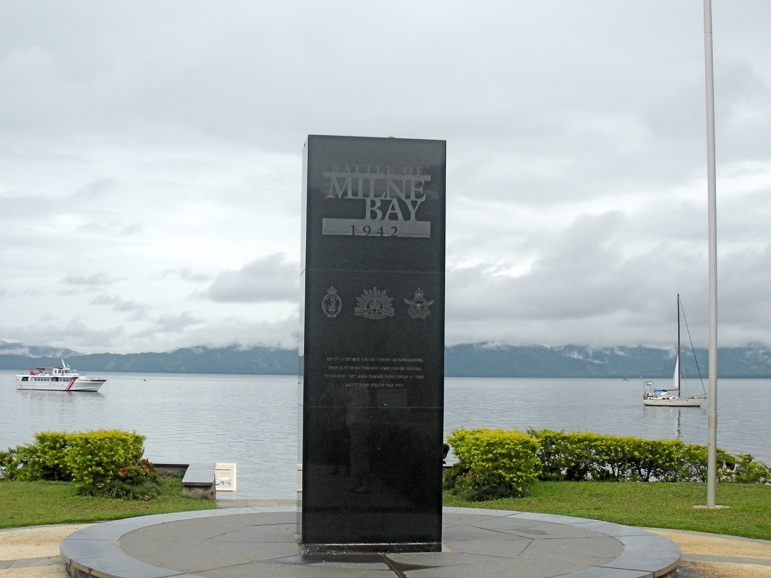 Turnbull Memorial, Papua New Guinea 2019.