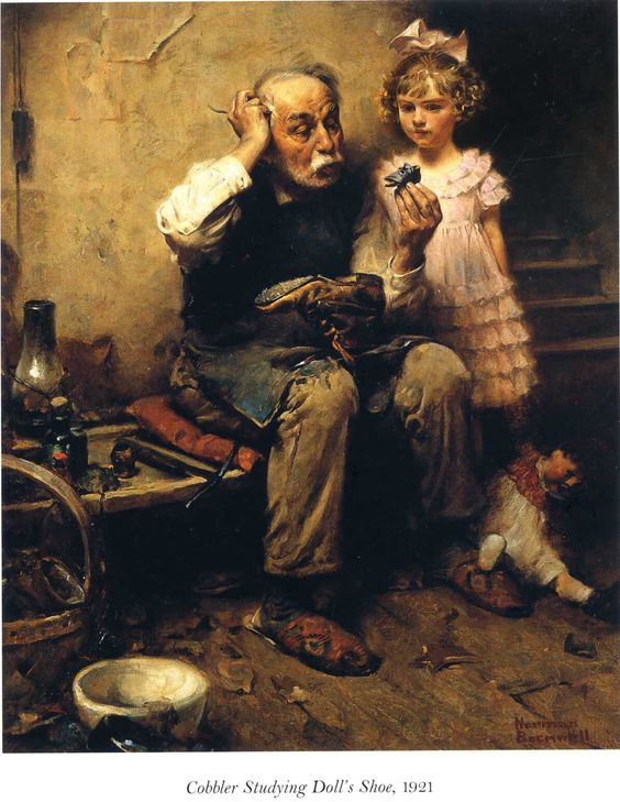 Simone Cechetto of A1923 was inspired by Norman Rockwell.