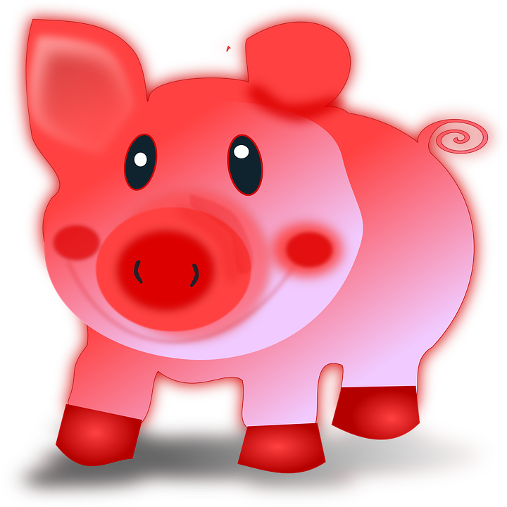 Free vector graphic: Sow, Pig, Animal, Piglet, Pink.