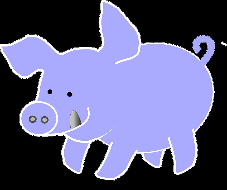 Free vector graphic: Pig, Animal, Farm, Cute, Tongue.