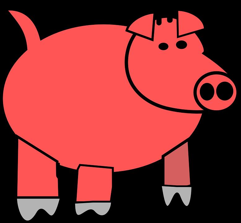 Free vector graphic: Pig, Pork, Tail, Farm, Swine.