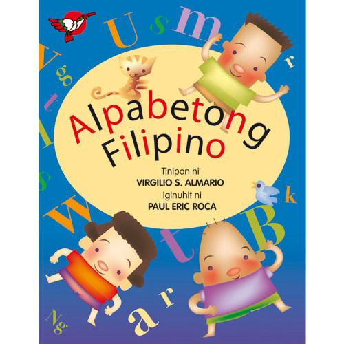 Alpabetong Filipino — a Filipino book for kids.