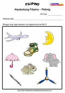 5 Free Patinig Worksheets (Set 1) « The Filipino Homeschooler.