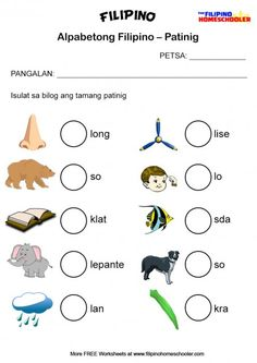 Learning Filipino: Colors in Filipino Clip Cards « The Filipino.