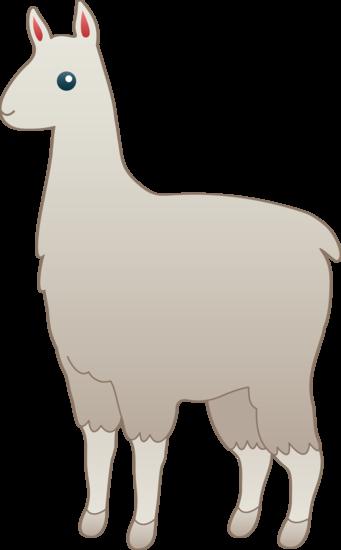 Alpaca Clipart.