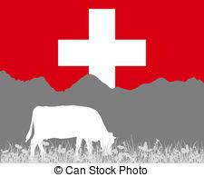 Swiss alps clipart.