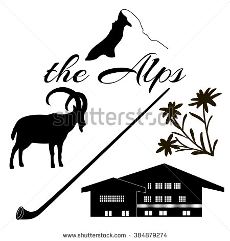 Alpines Stock Photos, Royalty.