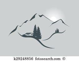 Alpenpanorama Clip Art EPS Bilder. 3.464 alpenpanorama Clip Art.