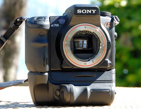 Sony Alpha A700.