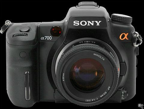 Sony Alpha DSLR.