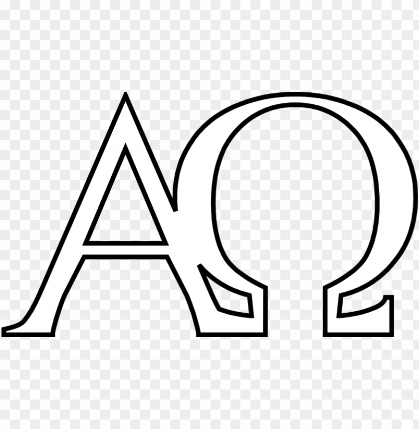 alpha and omega are the first and the last letters.