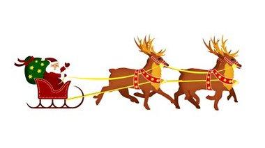 Santa With Reindeer Alpha Channel 1156666 Shutterstock Clipart.