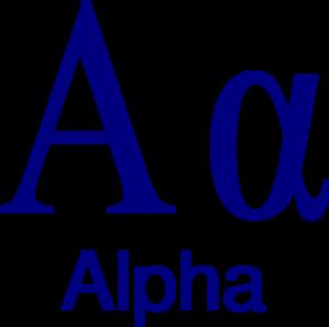 Alpha Clipart.