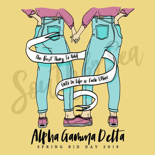 ✰ South by Sea @southbyseacollege ✰ Alpha Gamma Delta.