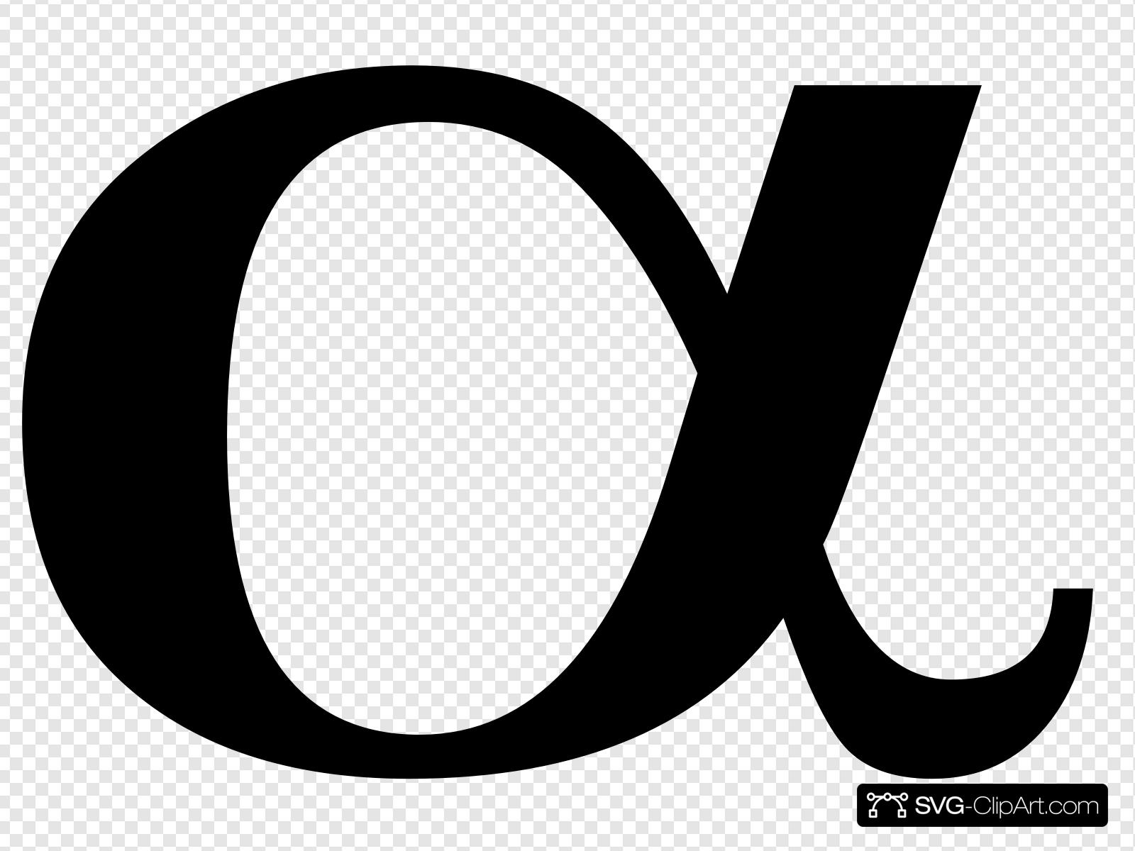 Alpha Clip art, Icon and SVG.