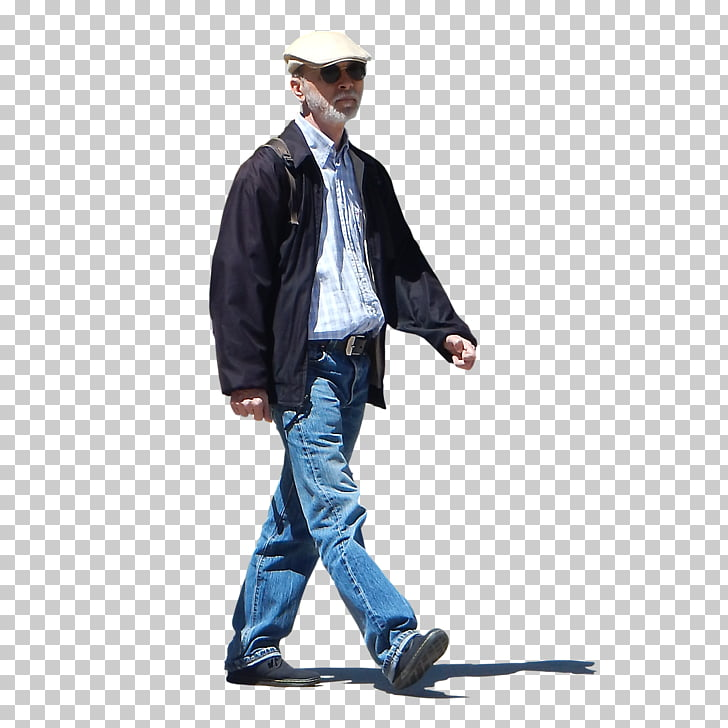 People (Old man) Texture mapping Alpha channel, OLD MAN PNG.