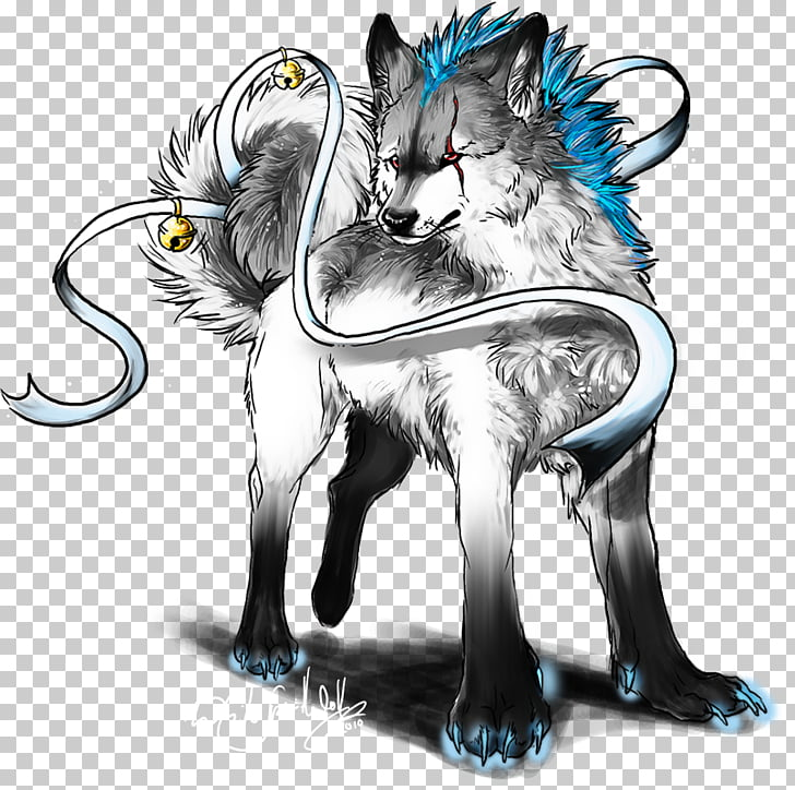 Dog Ice Drawing Pack Alpha, great white wolf PNG clipart.