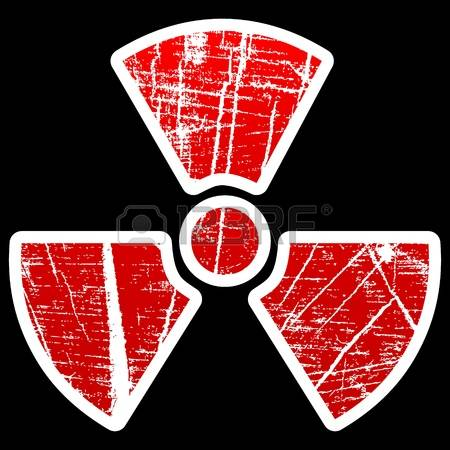 Alpha radiation clipart.