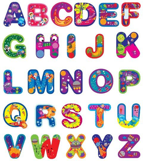 Free Printable Funny Alphabet Letters.