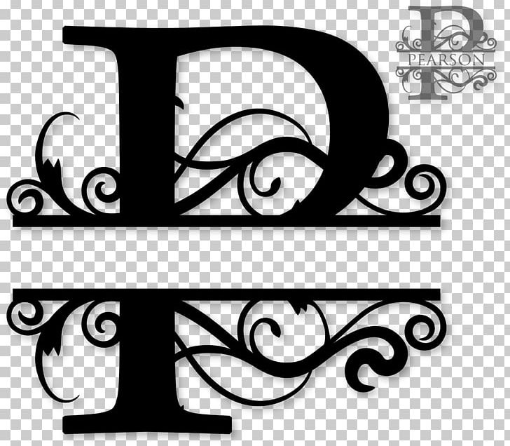 Monogram Letter Alphabet PNG, Clipart, Alphabet, Black And.
