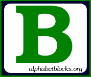 Similiar Block Letter B Clip Art Keywords.