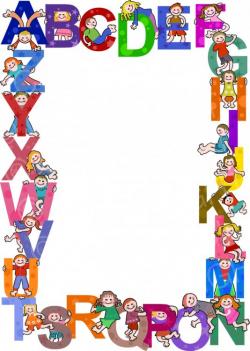 Alphabet clipart border, Picture #221178 alphabet clipart border.