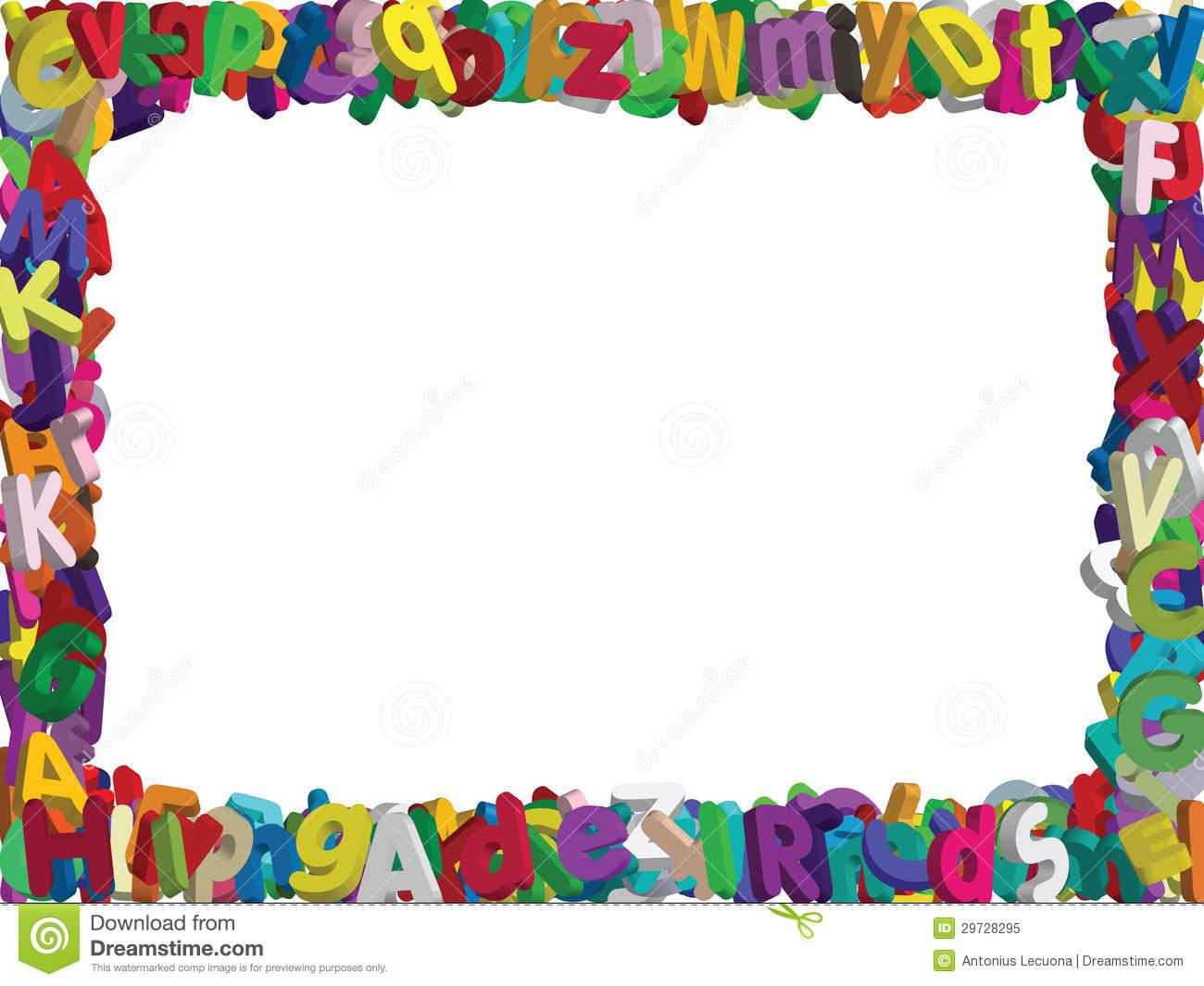 Letter Clipart Border.