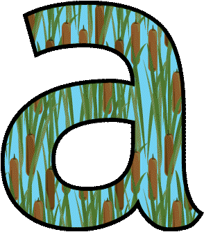 Lowercase Bubble Letters Clipart.