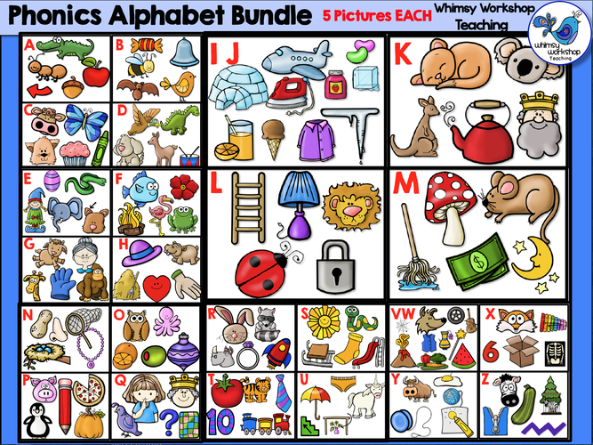 Phonics Alphabet Bundle.