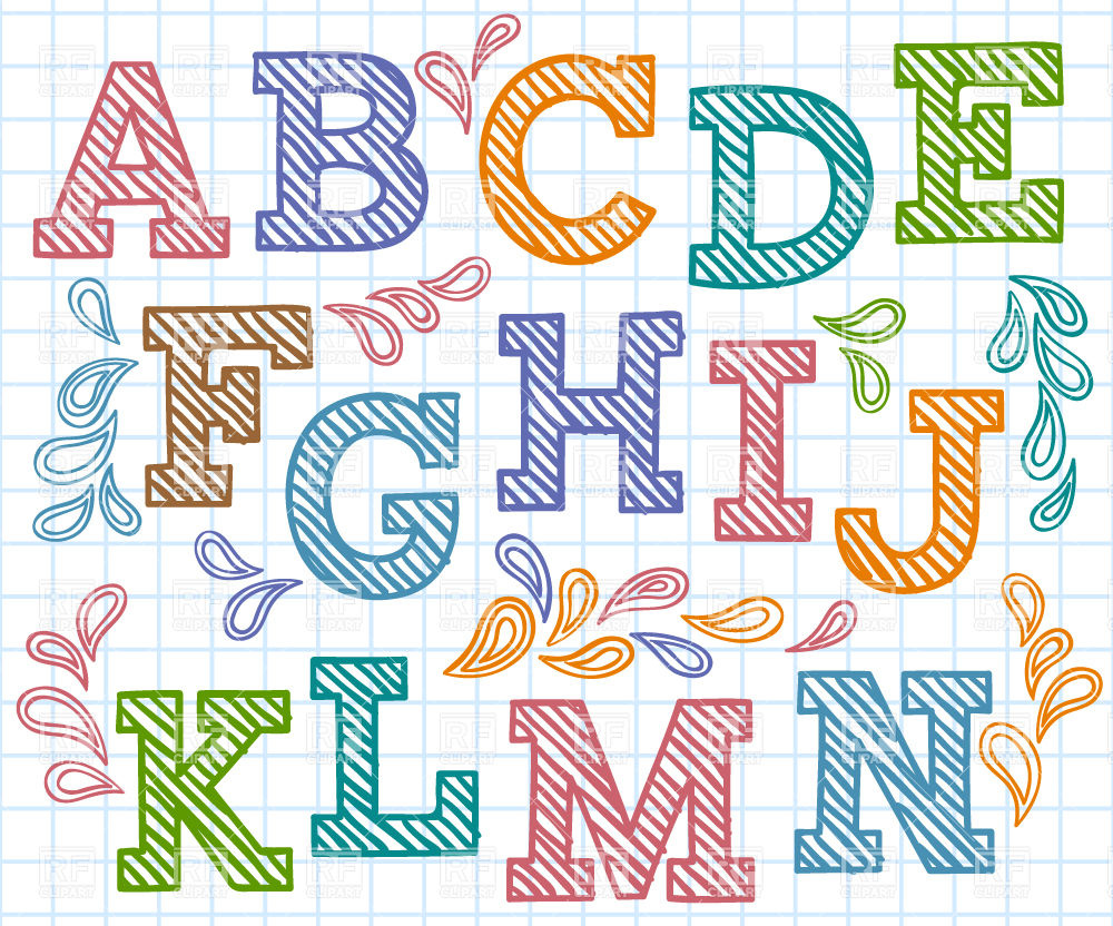 Alphabet Font Clipart 10 Free Cliparts