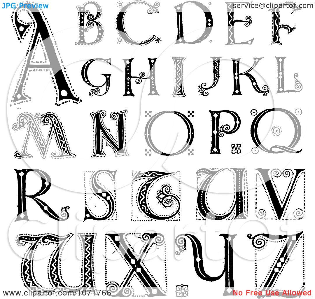 Alphabet Letters.