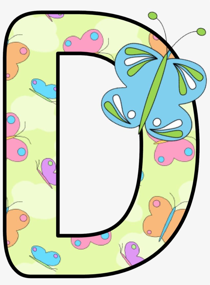 Clipart Butterfly Alphabet.