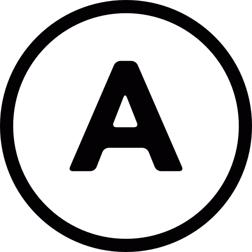 Alphabet Icon Png #74146.